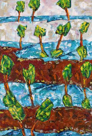 از مجموعه درختان2 از سیروان کنعانی