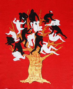 the tree of battle and war  Hosna Karnama