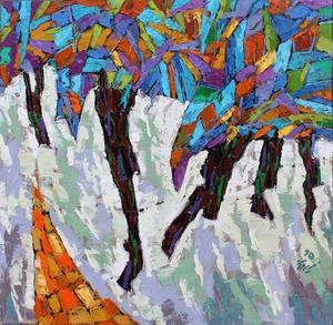 از مجموعه درختان7 از سیروان کنعانی
