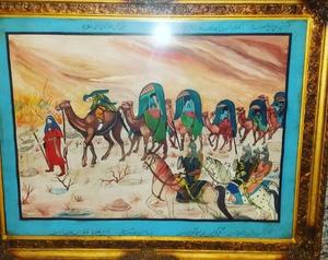 caravan of ashoras  afternoon  Hoosein Samavatian