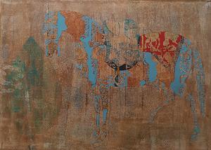 اسب قهوه ای از محمد هادی فدوی