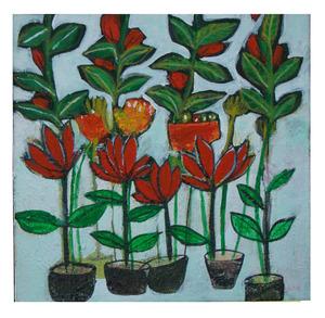 Flower  art university tehran