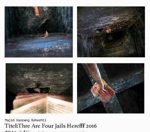 چهار زندان از مجید  کورنگ بهشتی