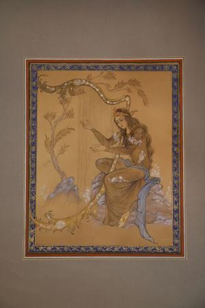 mythos of harp  Parnia modarresi