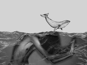Whale dancing  naeem masoumi