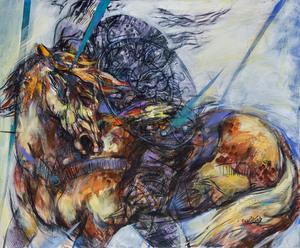 رخش از نیلوفر  قادری نژاد