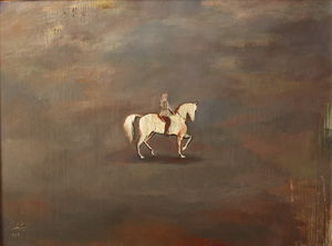 woman & horse  maryam rangamiz