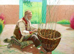 basket waver  Yousef  Rajabi