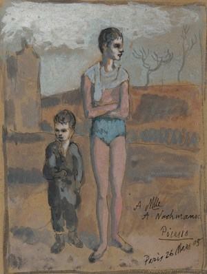 Young Acrobat and Child  Pablo Ruiz y Picasso