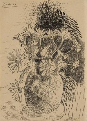 Vase of Flowers  Pablo Ruiz y Picasso