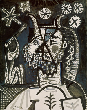 Faun with Stars  Pablo Ruiz y Picasso