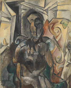 Woman in an Armchair  Pablo Ruiz y Picasso