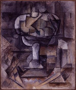Fruit Bowl  Pablo Ruiz y Picasso