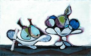 Dish of Pears  Pablo Ruiz y Picasso