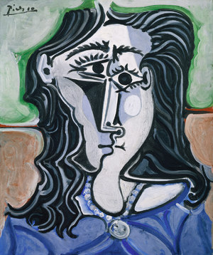 Head of a Woman  Pablo Ruiz y Picasso