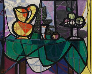 Pitcher and Bowl of Fruit  Pablo Ruiz y Picasso