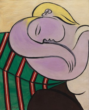 Woman with Yellow Hair   Pablo Ruiz y Picasso