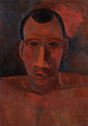 Bust of a Man  Pablo Ruiz y Picasso