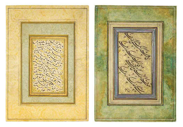 آثار هنری میرعماد حسنی قزوینی