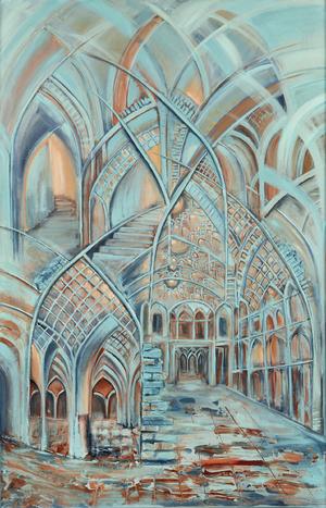 turquoise arches 4  Shahla Rashidian