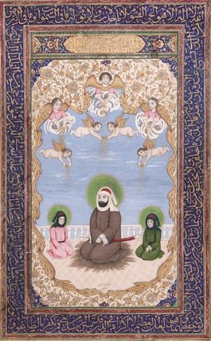 بدون عنوان از  محمد اسماعیل نقاش باشی (سده سیزده)