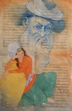 Poetic Fragment 2  habibollah soukhtehsaraei