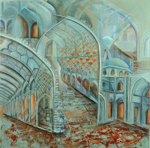 turquoise arches3  Shahla Rashidian