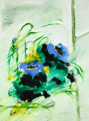 Still Life in Green  farideh lashai