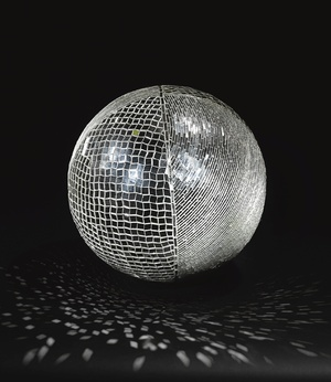 MIRROR BALL  monir farmanfarmian