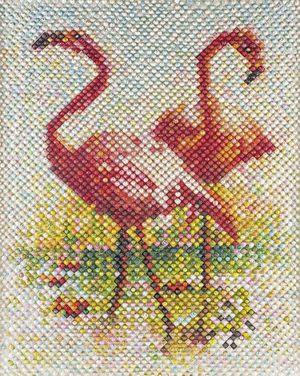 2 Flamingos  Farhad Moshiri
