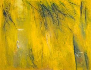 درختان آبی در زرد از فریده  لاشایی