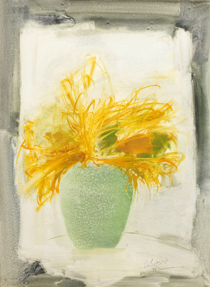 Still Life in Yellow  farideh lashai