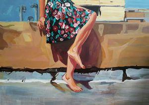lonely woman  niloofar kamalidehghan
