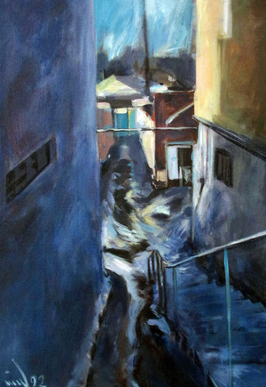 The alley  ghader Mansoori
