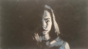 Portrait of mis z  sobhan sajjadieyeh