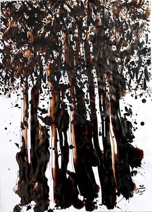 مجموعه ی درختان 4 از سیروان کنعانی