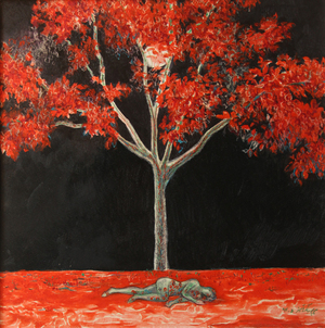 The red tree  maryam rangamiz
