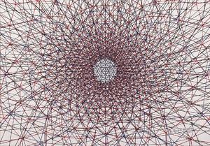 3 from Demiurge series 2015 ink on cardboard work size 70x50 cm frame size 75x55 cm  Mohamadreza Ahmadi Monfared