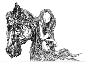 تنها که باشی از اسب ها نجیب تر از حسین طاهرپرستار