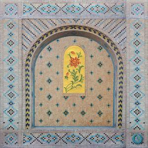 Shazdeh Garden Wall #1  Susan Adibi