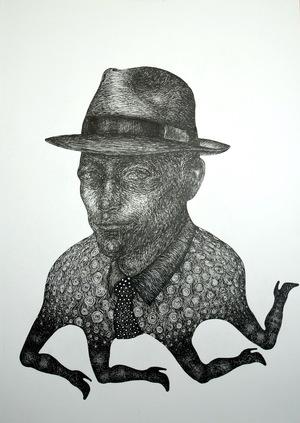 A man with four legs  naji ariafar