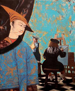 Illustration of love  Amineh Elyasi