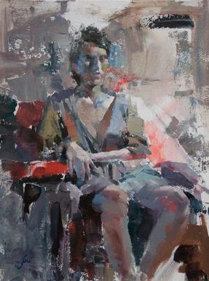 Seated woman  ehsan maleki