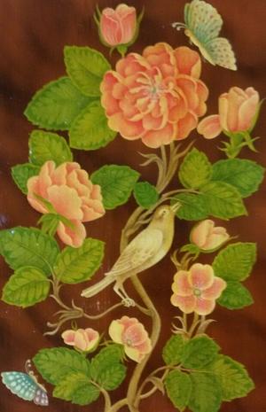 Flower&birde   fahimeh  Nikooiefard