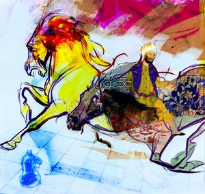 اسب نوو از فرید قلی زاده