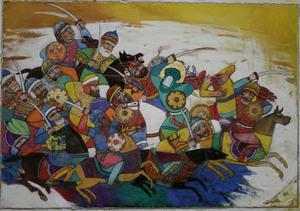 رزم1 از علی اکبر  سراوانی
