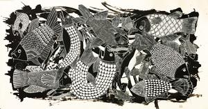 حوض ماهی سعدی از عسل مرزبان