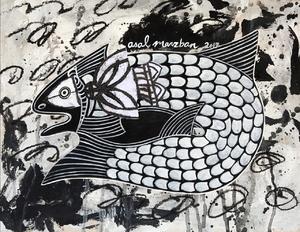 حوض ماهی از عسل مرزبان