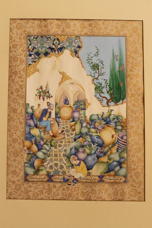کارگاه کوزه گری از دنیا امام حسینی