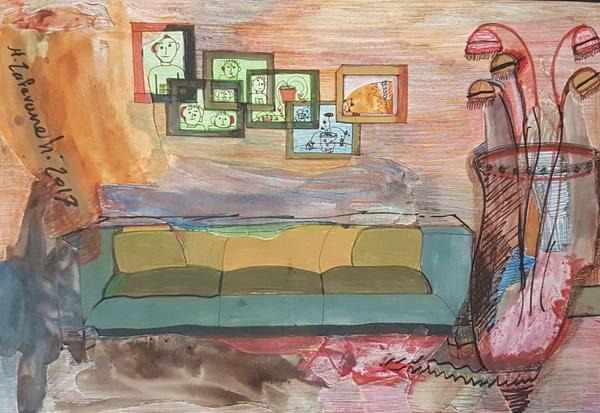 Works Of Art Hosnieh Zaferanchi zadeh mogadam